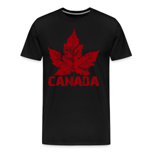 Men's Cool Canada Souvenir Shirt Sm- 5xl T-shirts - Men's Premium T-Shirt