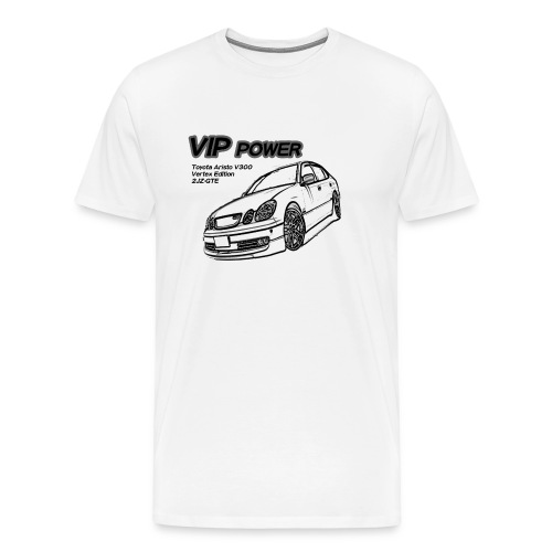 VIP Power Toyota Aristo - Men's Premium T-Shirt