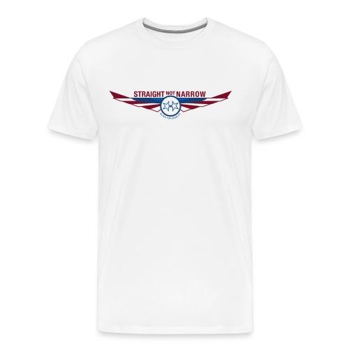 Standard White T - Men's Premium T-Shirt