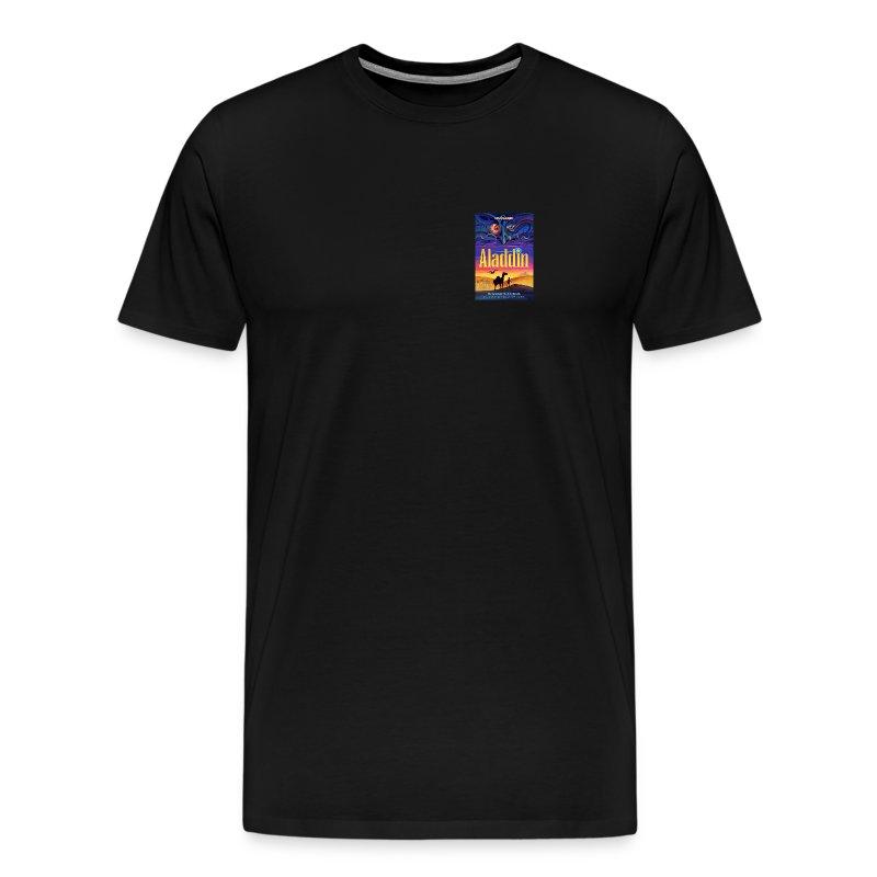 Aladdin Show T-Shirt, Small Art - Men's Premium T-Shirt
