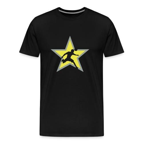 Soccer star - Men's Premium T-Shirt