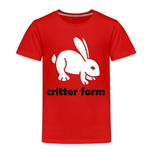 Critter Form - Toddler Premium T-Shirt