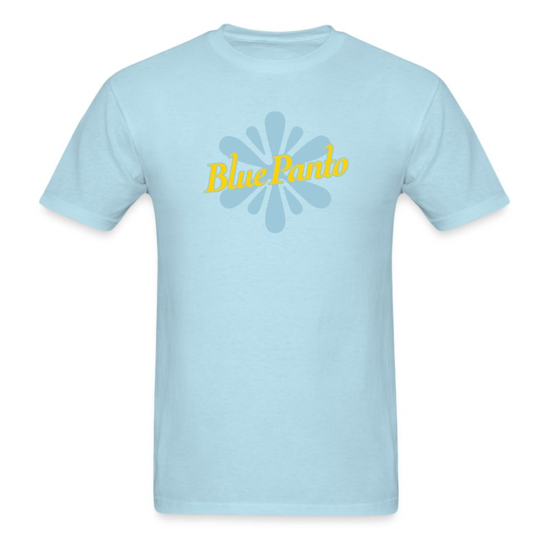 Blue Panto Shirt Sky - Men's T-Shirt