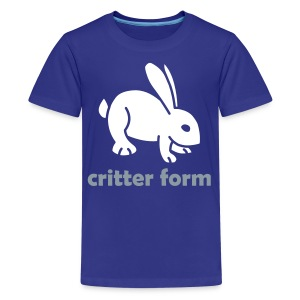Critter Form - Kids' Premium T-Shirt