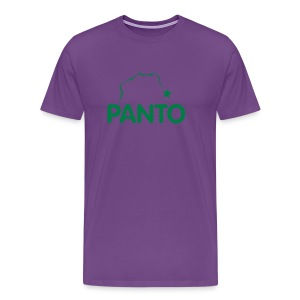 Panto Balls Purple Shirt - Men's Premium T-Shirt