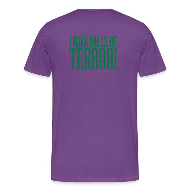 Panto Balls Purple Shirt
