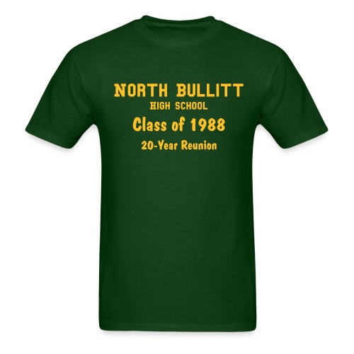 NBHS '88 Baugh - Men's T-Shirt
