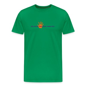 Panto Fifth Anniversary Shirt Green - Men's Premium T-Shirt