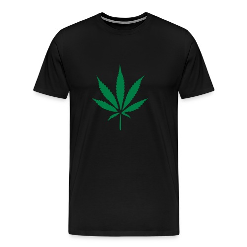 Weed - Black - Men's Premium T-Shirt