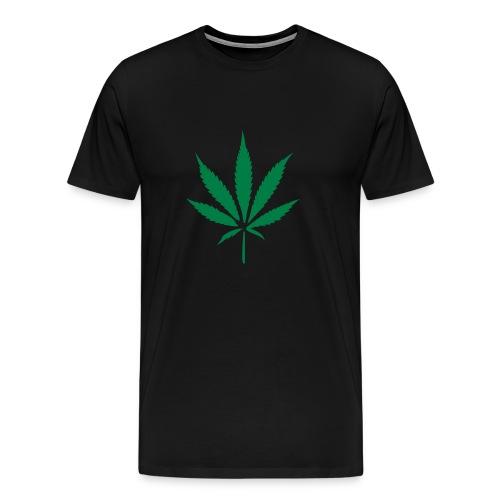 Weed - Black - Men's Premium T-Shirt