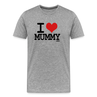 Ash  i love mummy by wam T-Shirts