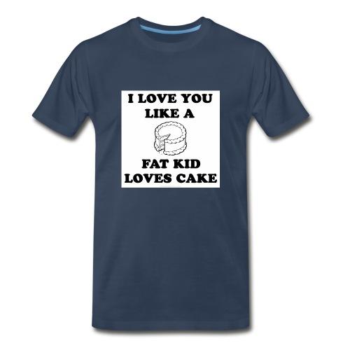 Cake Tee - Men's Premium T-Shirt