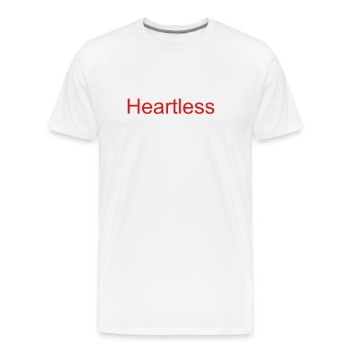 Heartless-White - Men's Premium T-Shirt