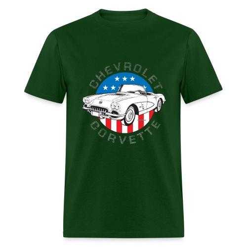 forest green old chevy shirt - Men's T-Shirt