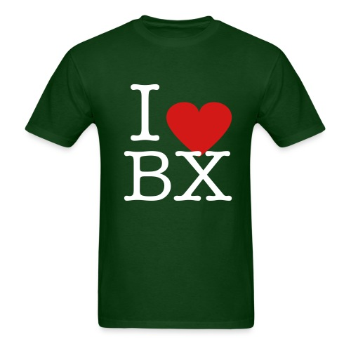 Green I Love BX Tee - Men's T-Shirt