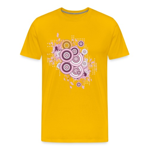 Summer Circles Tee - Men's Premium T-Shirt