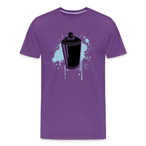 Spray Can - Men's Premium T-Shirt