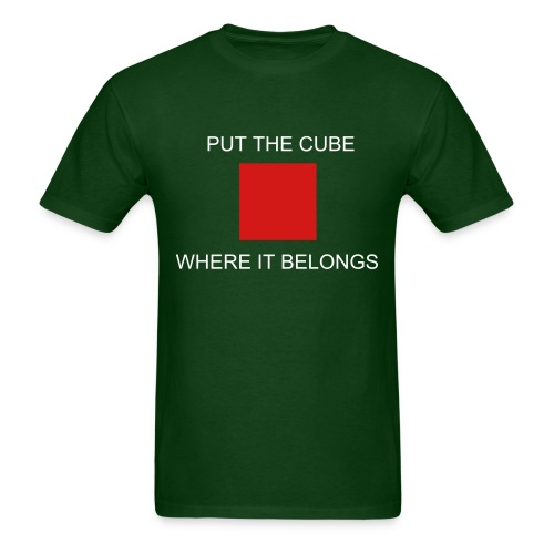 Cube In Chest - Men's T-Shirt