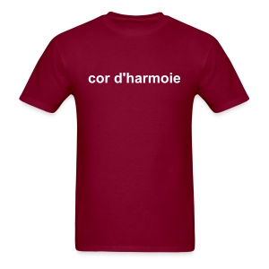 cor d'harmonie (french horn... in French) Men's Heavyweight Tee - Men's T-Shirt