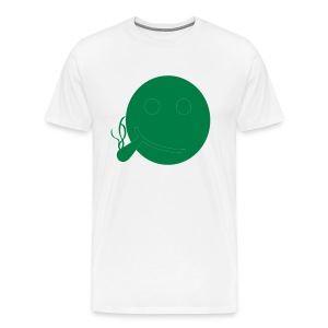 SMILEY BLUNTED - Men's Premium T-Shirt