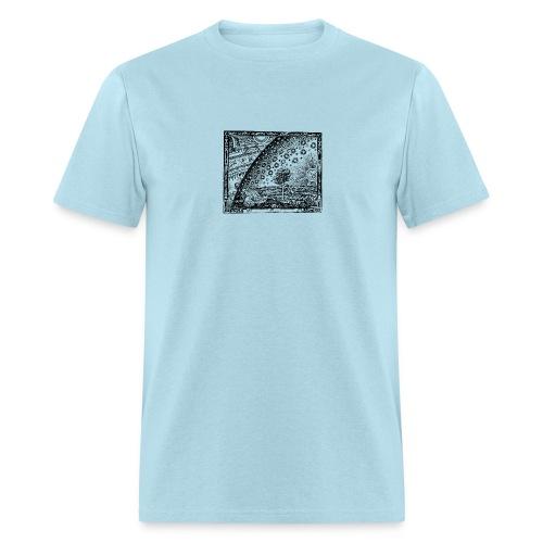 Flammarion Alchemical Woodcut 2 - Men's T-Shirt