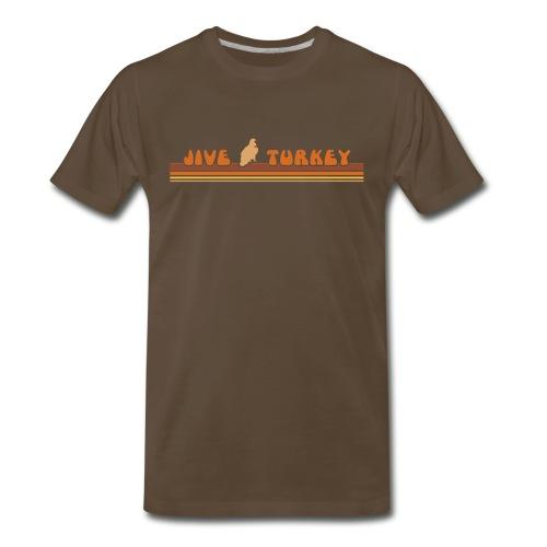 Men's Jive Turkey Tee - Men's Premium T-Shirt
