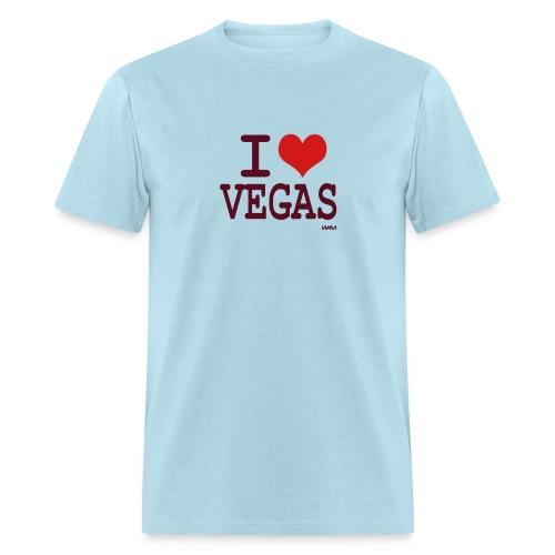 Adult I Love Vegas Shirt - Men's T-Shirt