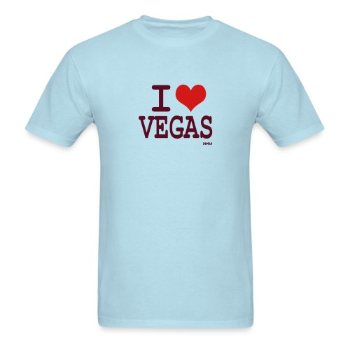Adult I Love Vegas Shirt - Men's T-Shirt