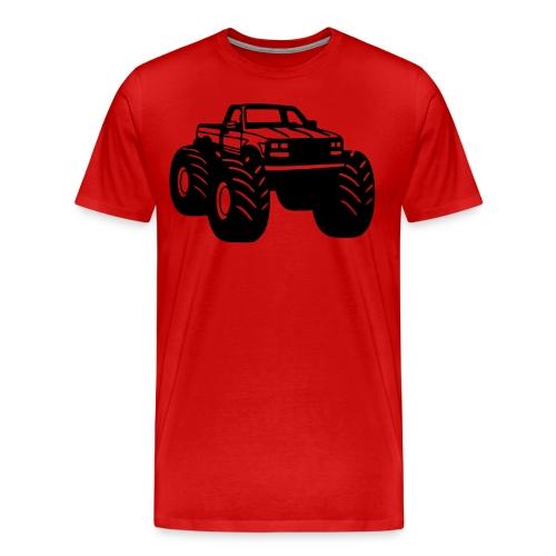monster truck t - Men's Premium T-Shirt