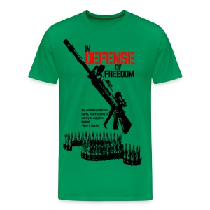 In Defense of Freedom - Men's Premium T-Shirt