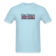 T-Shirts ~ Men's T-Shirt ~ One Nation Indivisible