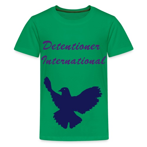 Children's Detentioner International Logo T-Shirt - Kids' Premium T-Shirt