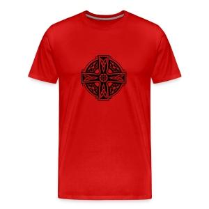 CELTIC CROSS - Men's Premium T-Shirt