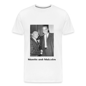 Martin and Malcolm - Men's Premium T-Shirt