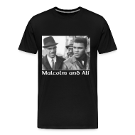 T-Shirts ~ Men's Premium T-Shirt ~ Malcolm and Ali