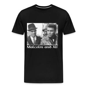 Malcolm and Ali - Men's Premium T-Shirt