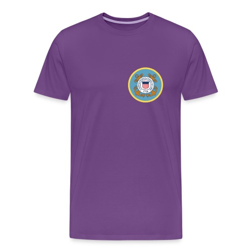 USCG PROUD TO SERVE - Men's Premium T-Shirt
