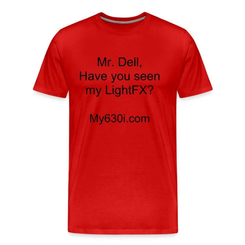 Ask Mr. Dell . . . (Red) - Men's Premium T-Shirt