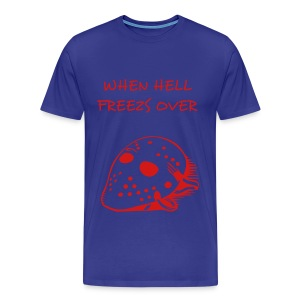 hell freeze's over - Men's Premium T-Shirt