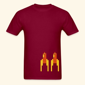 Scanline_Rockets - Men's T-Shirt