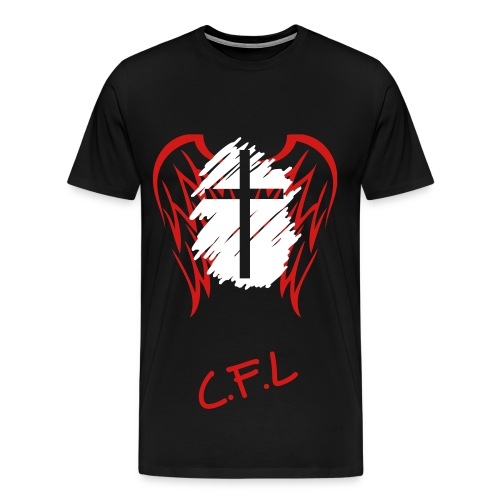 The Angle/cross T-shirt{men, youth} - Men's Premium T-Shirt