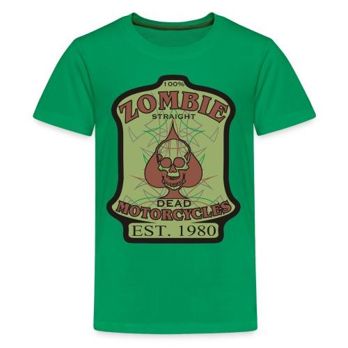 Kids Zombie Motorcycle shirt - Kids' Premium T-Shirt