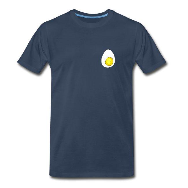 Men's Egg Navy Heavyweight T-shirt