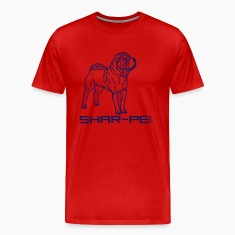 Red sharpei00042 T-Shirts
