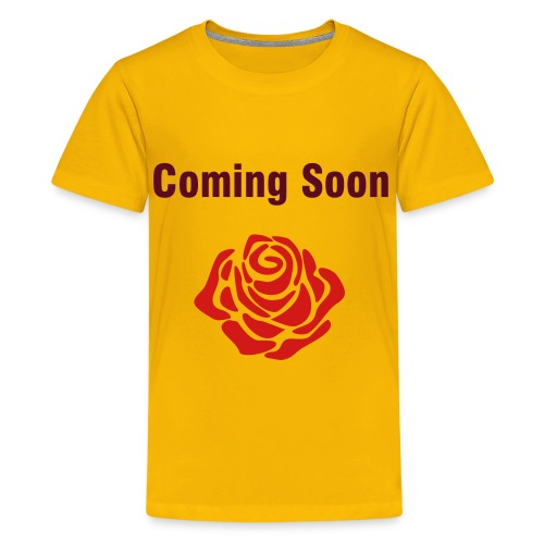Children's Coming Soon T-Shirt - Kids' Premium T-Shirt