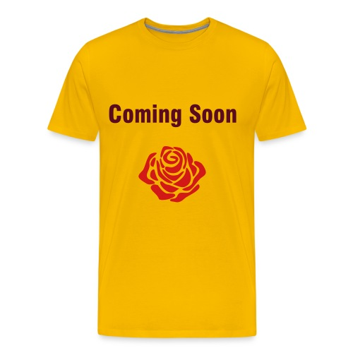 Coming Soon T's - Men's Premium T-Shirt