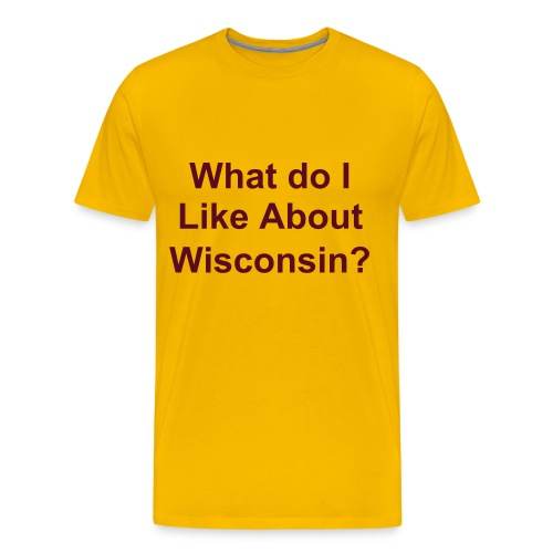 Wisconsin Game T's - Men's Premium T-Shirt