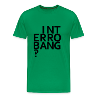 T-Shirts ~ Men's Premium T-Shirt ~ Interrobang‽