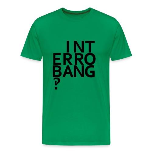 Interrobang‽ - Men's Premium T-Shirt
