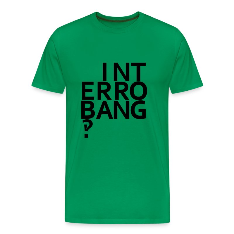 Interrobang‽ - Men's Premium T-Shirt